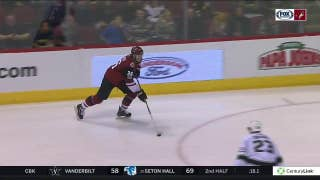 HIGHLIGHTS: Coyotes knock off Kings in overtime