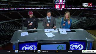 Brendan Perlini rewards Mom with goal in Coyotes' victory