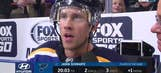 Jaden Schwartz: Blues 'did a better job of not getting frustrated' against Wild