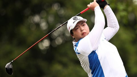 Shanshan Feng wins Blue Bay LPGA by 1 stroke