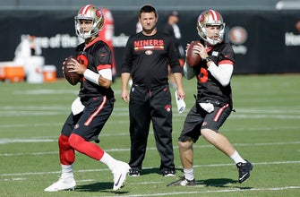 Fans, coach's wife excited to see Garoppolo play for 49ers