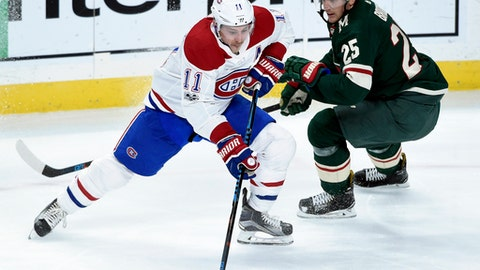 Pacioretty's overtime goal caps Canadiens comeback against Jets