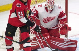 Mark Stone with goal and assist, Senators beat Red Wings 3-1 (Nov 02, 2017)