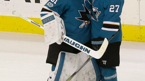 Sharks Drop Ducks in Shootout
