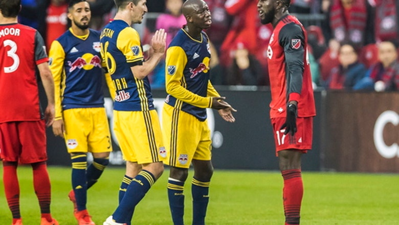 Toronto loses 1-0 to Red Bulls, advances on away goals