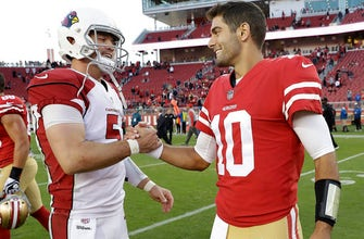 Even Shanahan's wife excited to see Garoppolo play