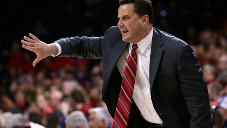Trier scores career-high 32, No. 3 Arizona opens with rout