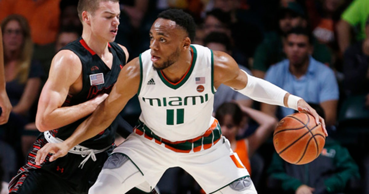 b590a21b939 Brown s triple-double helps Miami beat Gardner-Webb 77-45 (Nov 10 ...