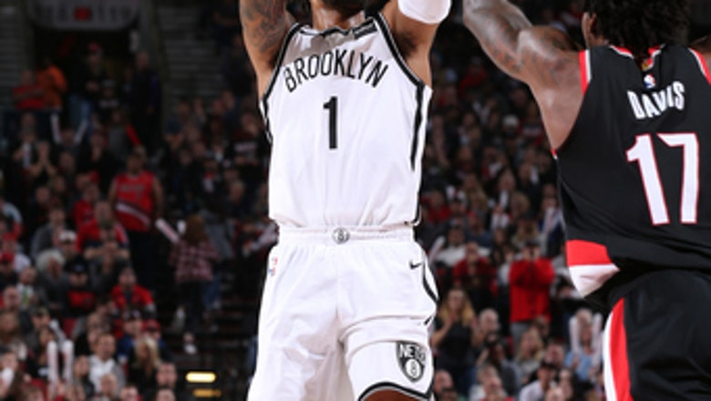 Russell has 21 points, Nets beat Trail Blazers 101-97