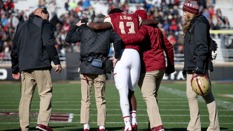 Boston College, UConn head to Fenway for some football