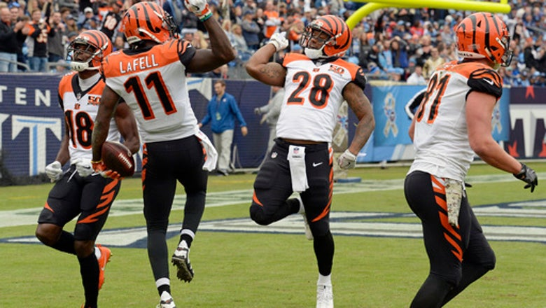 Bengals' running game is worst in franchise history so far