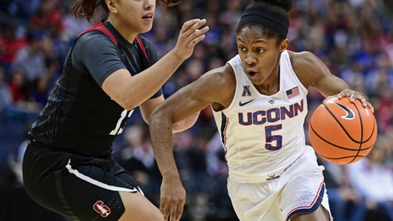 No. 1 UConn routs 10th-ranked Stanford 78-53