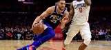 Embiid, Covington lead 76ers to 109-105 win over Clippers