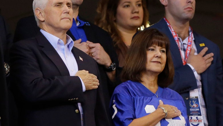 Pence's short trip to NFL game cost Indianapolis police $14K