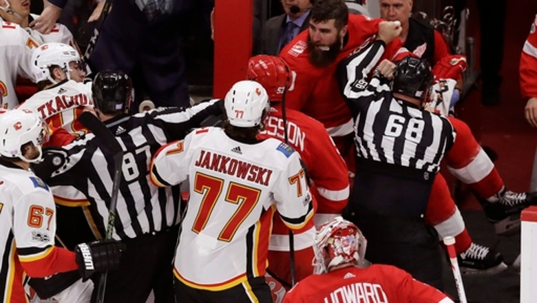 NHL suspends Red Wings' Witkowski for 10 games for fighting