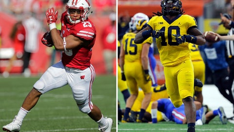 ESPN College GameDay: experts predict MI vs. Wisconsin