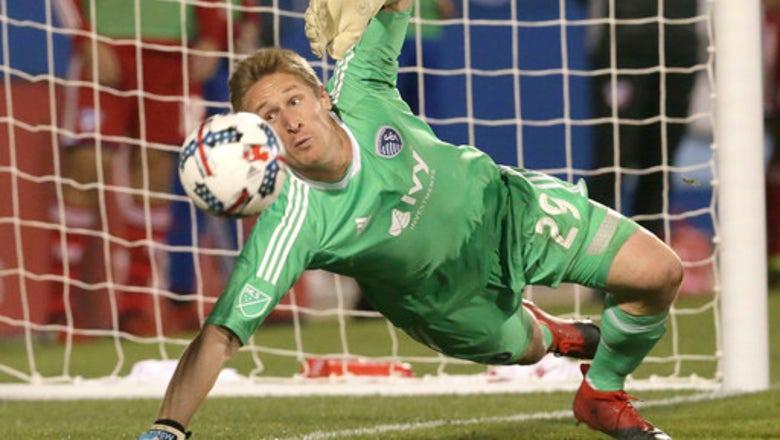 Sporting KC's Tim Melia named MLS Goalkeeper of the Year