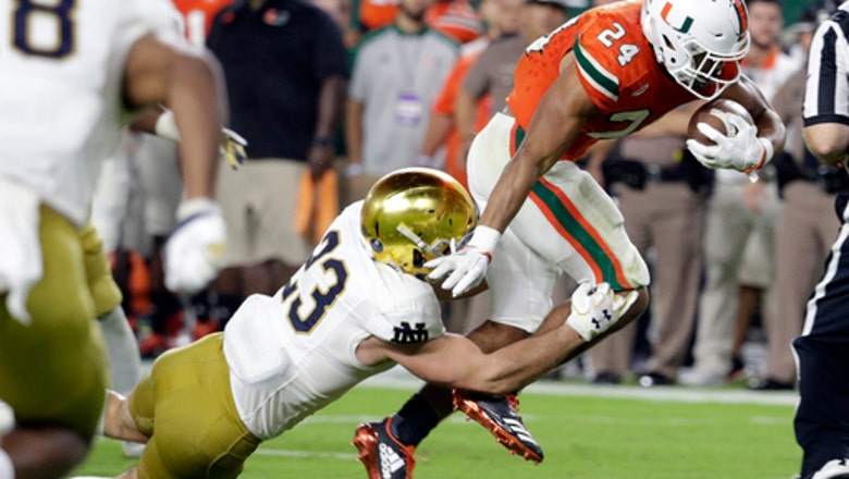 No. 9 Notre Dame defense readies for Navy after blowout loss