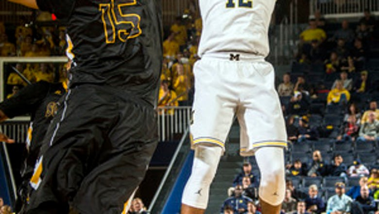 Teske lifts Michigan to 61-47 win over Southern Miss