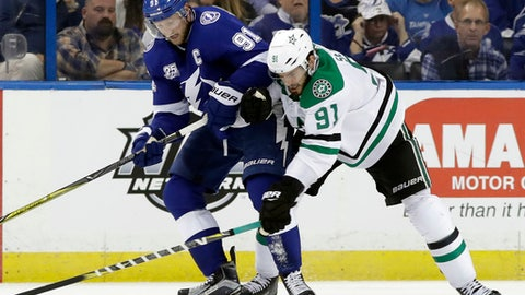 Lightning score six against Bishop, Stars