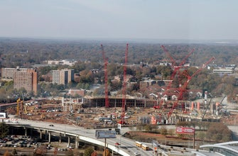New $1.6B Atlanta stadium rises; now old one to be destroyed