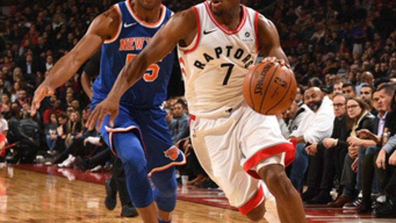 Lowry and DeRozan each score 22, Raptors beat Knicks 107-84