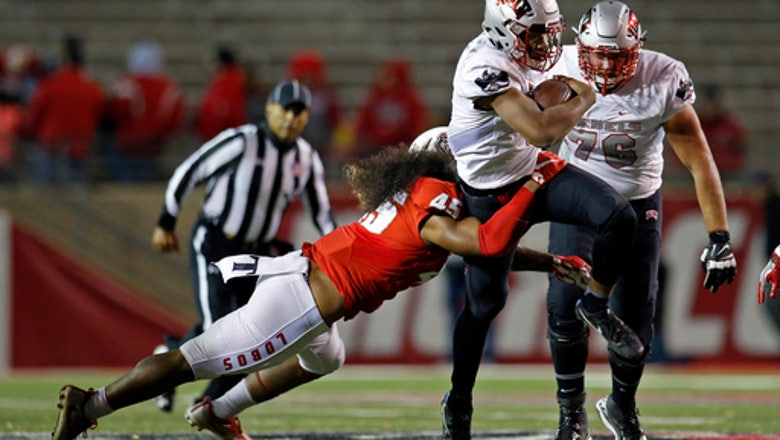 Armani Rogers stars in UNLV's 38-35 win over New Mexico