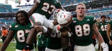 Miami gets bump to No. 2 behind Alabama in playoff rankings