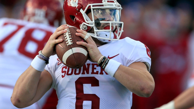 No. 3 Oklahoma in Big 12 title game, has to win for playoff