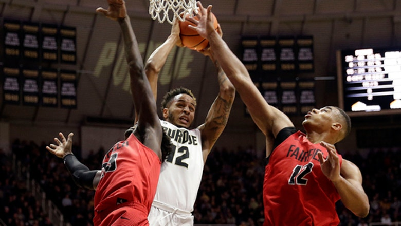 No. 19 Purdue makes 13 first-half 3s, crushes Fairfield