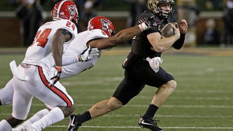 Wolford, Wake Forest upset No