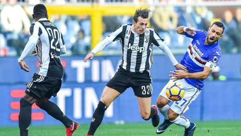 Juventus loses 3-2 at Sampdoria ahead of Barcelona clash