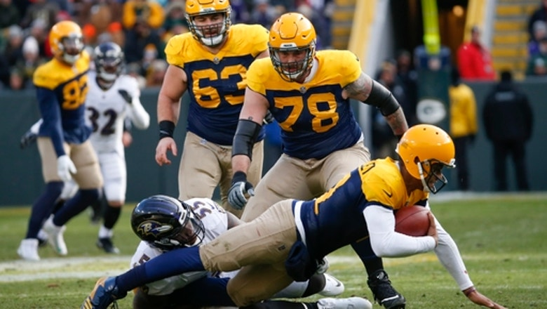 Packers coach backs Hundley after nightmare day vs Ravens