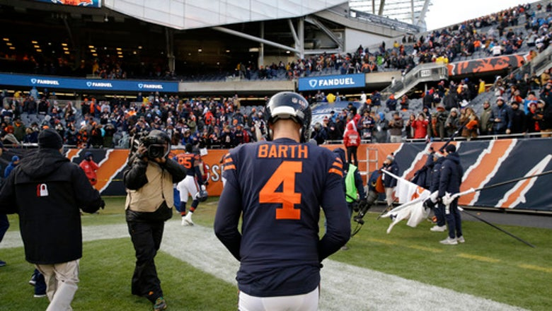 Missed field goal prompts Bears to switch kickers