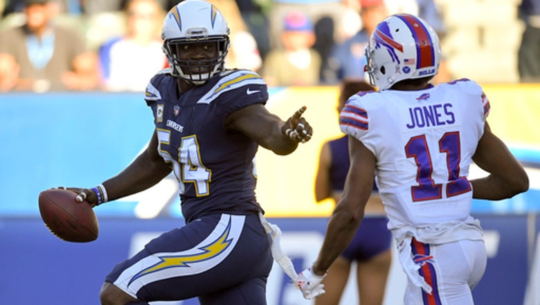 Chargers defense piles up 6 takeaways in rout of Bills
