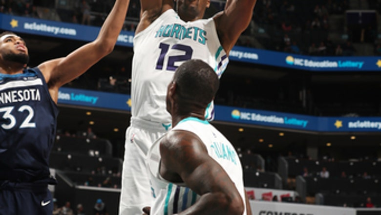 Howard's huge game lifts Hornets over Timberwolves, 118-102
