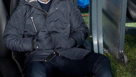 Porto coach Sergio Conceicao attends the Champions League Groug G soccer match between Besiktas Istanbul and FC Porto in Istanbul, Turkey, Tuesday, Nov. 21, 2017. (AP Photo/Lefteris Pitarakis)