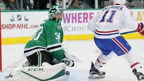 Cold facts: Second period push lifts Stars over Canadiens