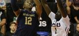 No. 13 Notre Dame drubs LSU 92-53 to reach Maui title game
