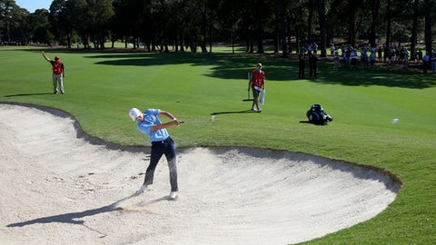 Spieth eyes weather help at Aust Open golf