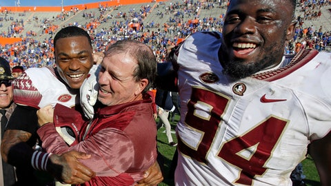 Florida State fan kicked out of Jimbo Fisher's radio show