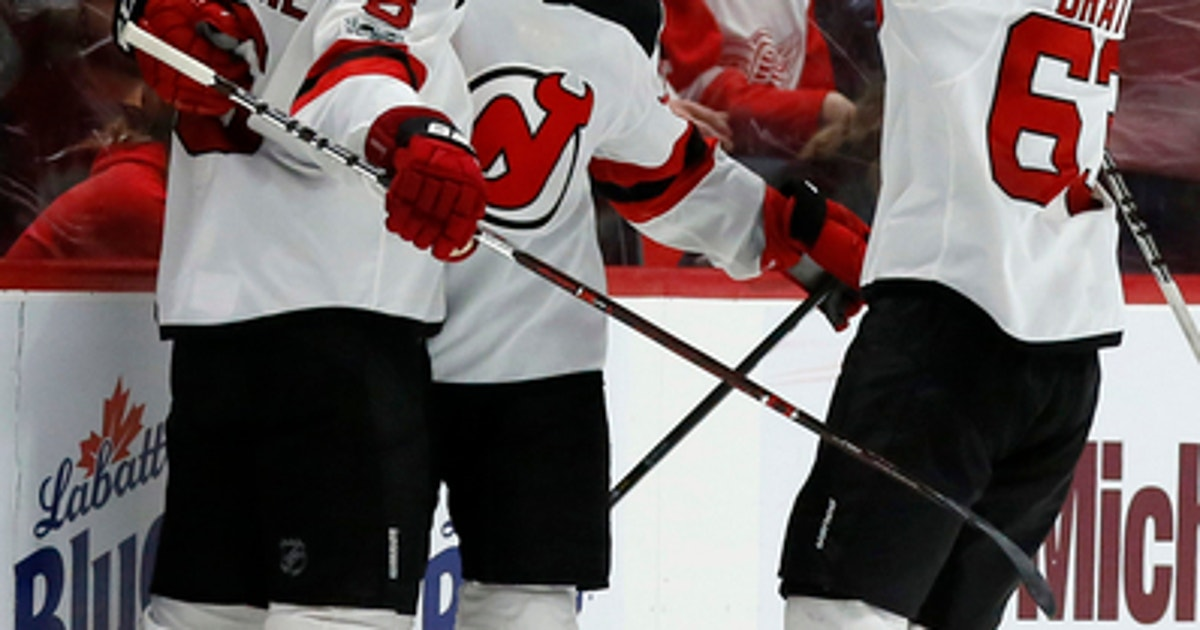 Gibbons scores in OT to lift Devils over Red Wings 4-3 (Nov 25 b6d4d2cf7