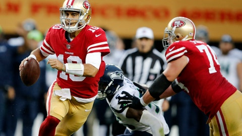 Jimmy Garoppolo Named 49ers Starter For Week 13