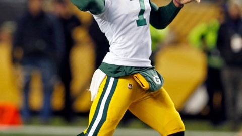 Brett Hundley, Packers quarterback (↑ UP)