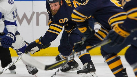 Sabres jolted by Lightning