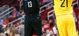 James Harden has 29, Rockets down Pacers 118-97