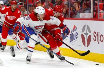 Gallagher scores twice, Canadiens beat Red Wings 6-3 (Nov 30, 2017)