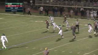 Playoffs, semifinals: Zach Charbonnet takes it up the middle for a 38 yard Oaks Christian touchdown