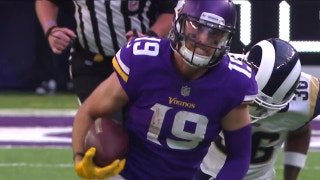 Vikings WR Adam Thielen pulls in 65-yd touchdown