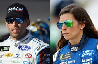 Aric Almirola will replace Danica Patrick at Stewart-Haas Racing in 2018